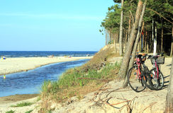 Bicycle trip Stock Photography