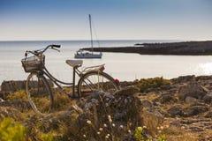 Bicycle Trip Stock Photos