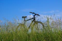 Bicycle trip Stock Image
