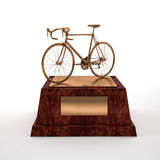 Bicycle trophy Royalty Free Stock Photo