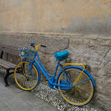 Bicycle Tuscany Italy Stock Photos
