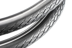 Bicycle tyre Royalty Free Stock Photo