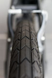 Bicycle tyre detail Royalty Free Stock Photo