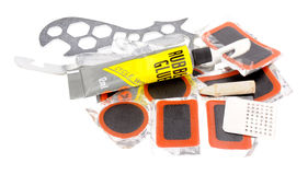 Bicycle Tyre Puncture Repair Kit Stock Photos
