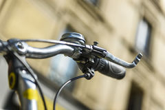 Bicycle in urban situation Royalty Free Stock Image