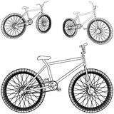 Bicycle Vector 02 Royalty Free Stock Images