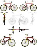 Bicycle Vector 03 Royalty Free Stock Photo