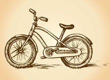 Bicycle. Vector drawing Stock Photography