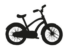Bicycle. Vector drawing Stock Photo