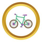 Bicycle vector icon Royalty Free Stock Photos