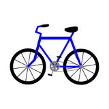 Bicycle. Vector Icon. Royalty Free Stock Photo