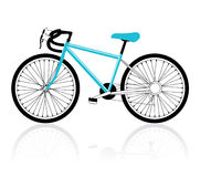 Bicycle, vector illustration Stock Photos