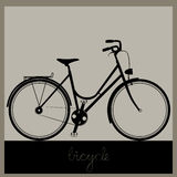 Bicycle vector illustration Royalty Free Stock Photos