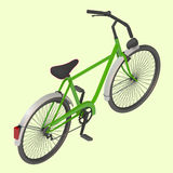 Bicycle Vector isometric illustration. Stock Photo