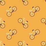 Bicycle Vector Pattern. Bicycle Retro Background Sport Vector Seamless Pattern vector illustration
