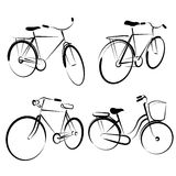Bicycle vectors Royalty Free Stock Image