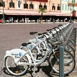 Bicycle in Verona. Rent a bicycle in Verona, Italy Stock Photography
