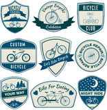 Bicycle Vintage Badges Royalty Free Stock Photography
