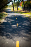 Bicycle and Walking Path Royalty Free Stock Photography