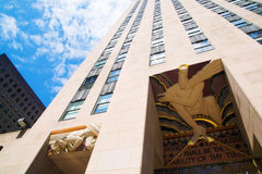 Rockefeller Center in NYC Royalty Free Stock Photo