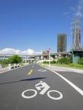 Bicycle way Stock Photography