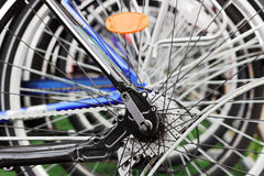 Bicycle weel Royalty Free Stock Photos