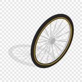 Bicycle whee isometric icon Stock Photo