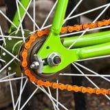 Bicycle wheel Stock Image