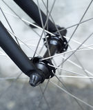 Bicycle wheel Stock Photography