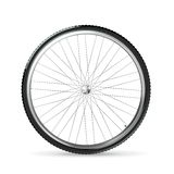 Bicycle wheel. Computer illustration on white background vector illustration