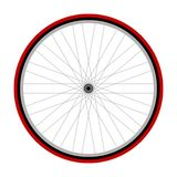 Bicycle wheel stock illustration