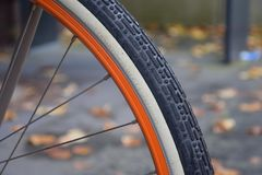 Bicycle Wheel, Bicycle, Road Bicycle, Tire Stock Photo