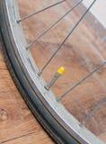 Bicycle wheel Stock Photo