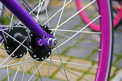 Bicycle wheel. Detail 7 royalty free stock photos