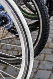 Bicycle wheel. Detail 22 Stock Image