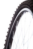 Bicycle wheel detail Stock Photography