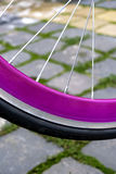 Bicycle wheel. Detail 2 Royalty Free Stock Photos