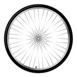Bicycle wheel,  Stock Image