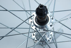 Bicycle wheel hub Stock Photography