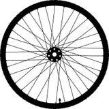 Bicycle wheel icon stock photo
