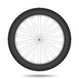 Bicycle Wheel Icon. Isolated on White Background Stock Photos
