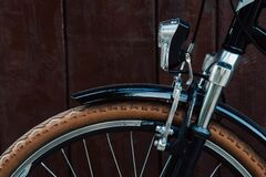 Bicycle wheel and rim Royalty Free Stock Photos