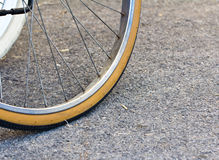 Bicycle wheel Stock Photos