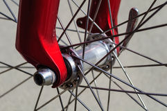 Bicycle Wheel Spoke Close Up Stock Photography