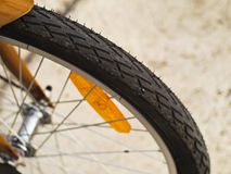 Bicycle wheel and tyre Stock Photography