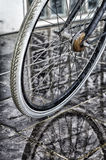 Bicycle wheel Royalty Free Stock Photos