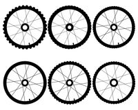 Bicycle wheels Stock Photos
