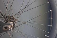 Bicycle wheels Royalty Free Stock Photos