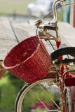 Bicycle whit baskets Royalty Free Stock Photo