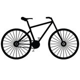 Bicycle on a white Royalty Free Stock Photos